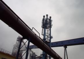 信阳钢铁高炉煤气自动放散点火装置工程顺利完工