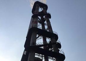 天津荣程转炉煤气放散点火工程顺利完工
