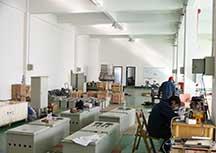 工厂内部环境