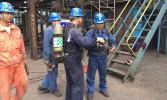 【日照钢铁】转炉煤气放散点火 武汉海韵 明星工程顺利竣工
