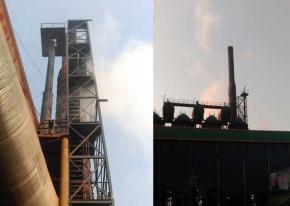 【邯郸】高炉直燃式放散点火成功 武汉海韵 直点装置更节能