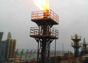 【河南】4套荒煤气放散点火装置 点火成功 武汉海韵顺利竣工