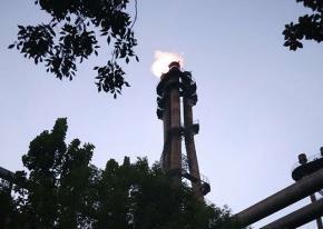6套转炉煤气放散改造 河北钢厂 认准武汉海韵直点放散装置