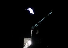 一套高炉煤气放散点火装置【点火成功】 武汉海韵竣工验收!