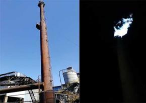 高炉煤气放散点火装置【河北】项目点火成功!海韵项目验收竣工!