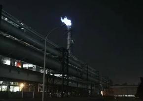 武汉海韵1套高炉煤气放散点火系统在【重庆】点火成功啦!