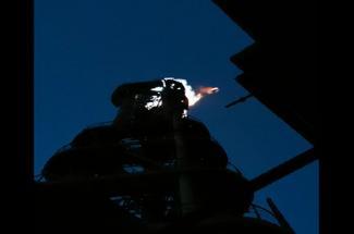 武汉海韵【吉林】转炉煤气放散塔点火装置 点火成功!